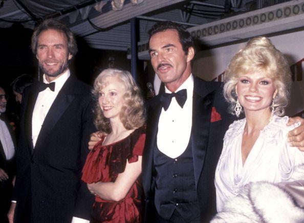Actor Clint Eastwood, actress Sondra Locke, actor Burt