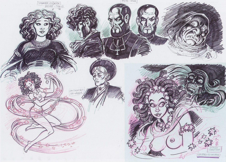 Alan ford gruppo t n t ubc enciclopedia online del fumetto - Magnus Femmine Incantate Spettro Femminile