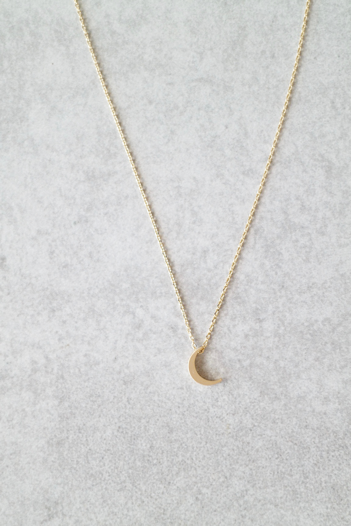 Photo of Crescent Moon Necklace