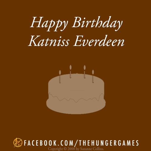 Happy Birthday, Katniss. #HungerGames