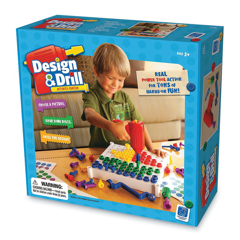 Design Drill Activity Center Educational Insights Creative Thinking Skills Activity Centers