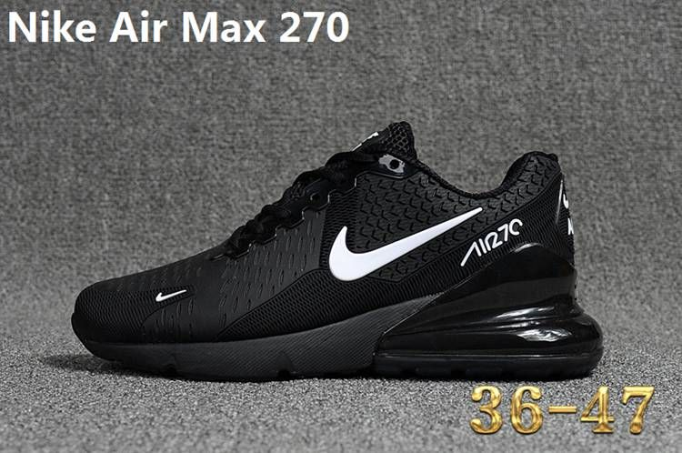 1cf1aab0b8d Nike 270 KPU AIR MAX 270 KPU Women Men Black White 36-47 in 2019 ...