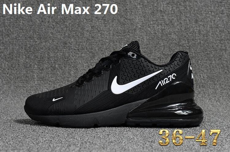 Nike 270 Kpu Air Max 270 Kpu Women Men Black White 36 47 Nike Shoes Air Max Nike Air Max White Nike Air Max