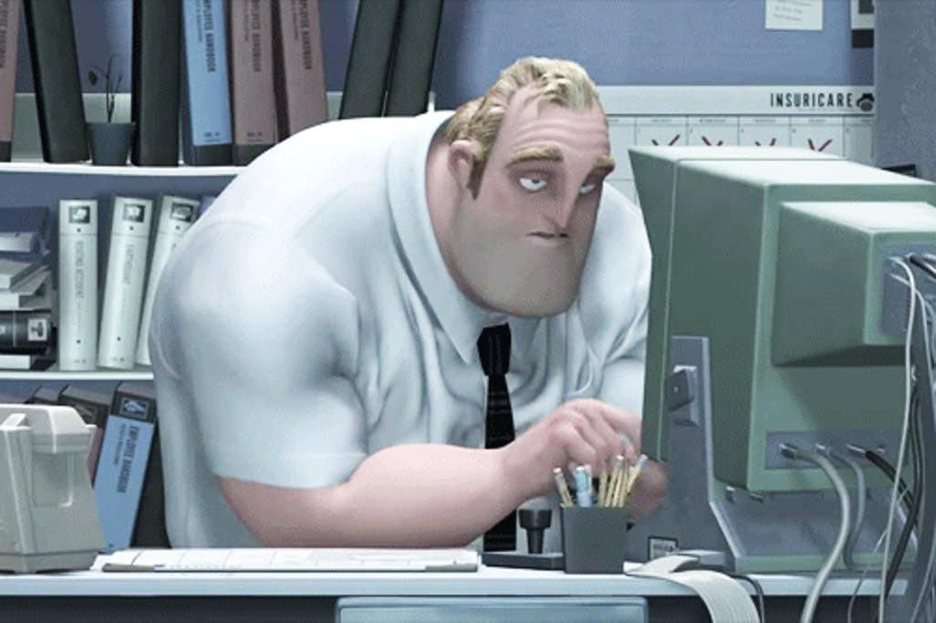 In the incredibles 2004 the parr family name is a golf
