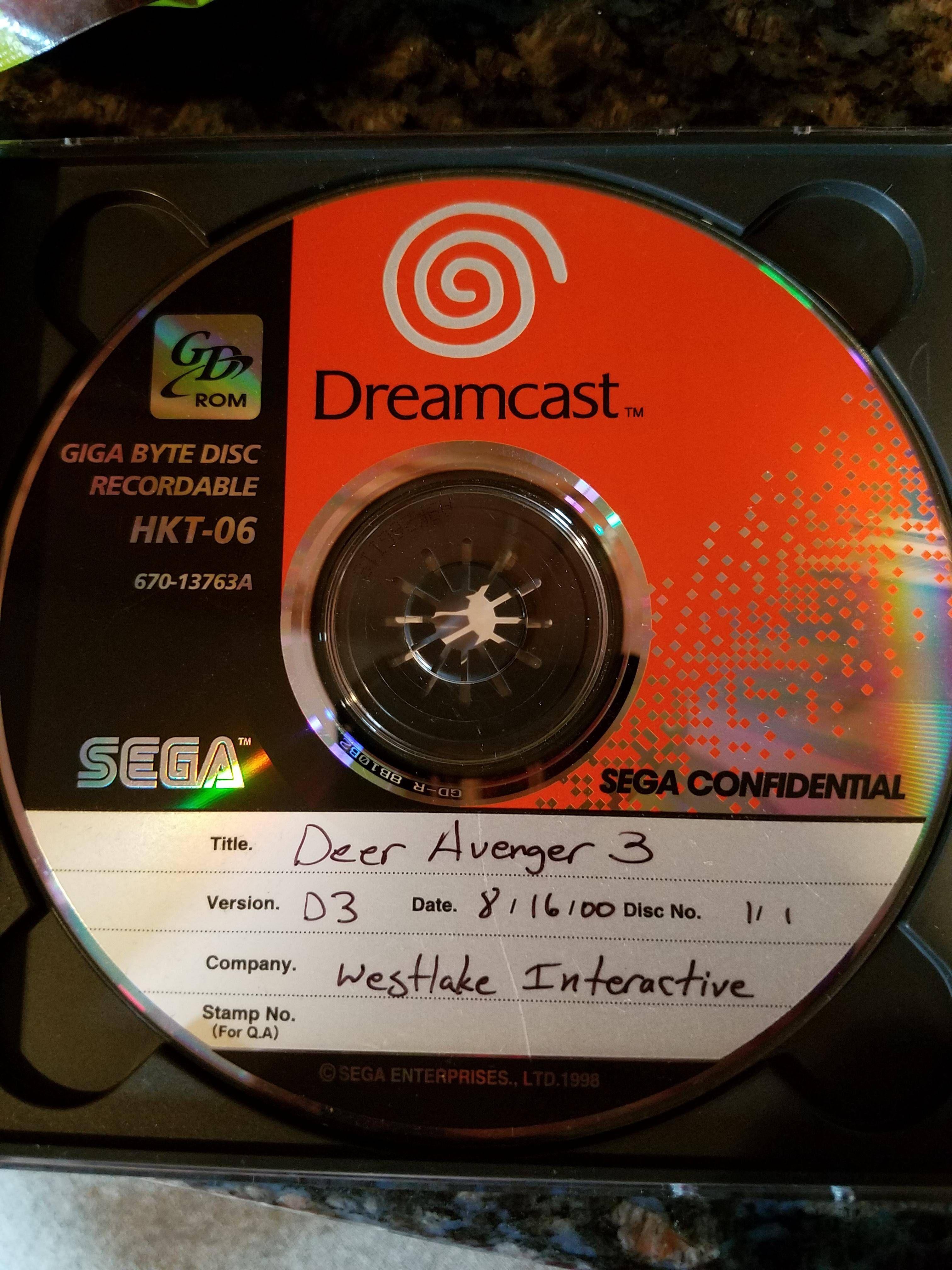 Reddit i found a game never ported to the dreamcast! sega
