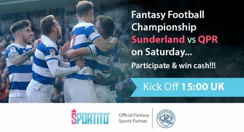Participate & Win Cash Fantasy football, Qpr, Fantasy sports
