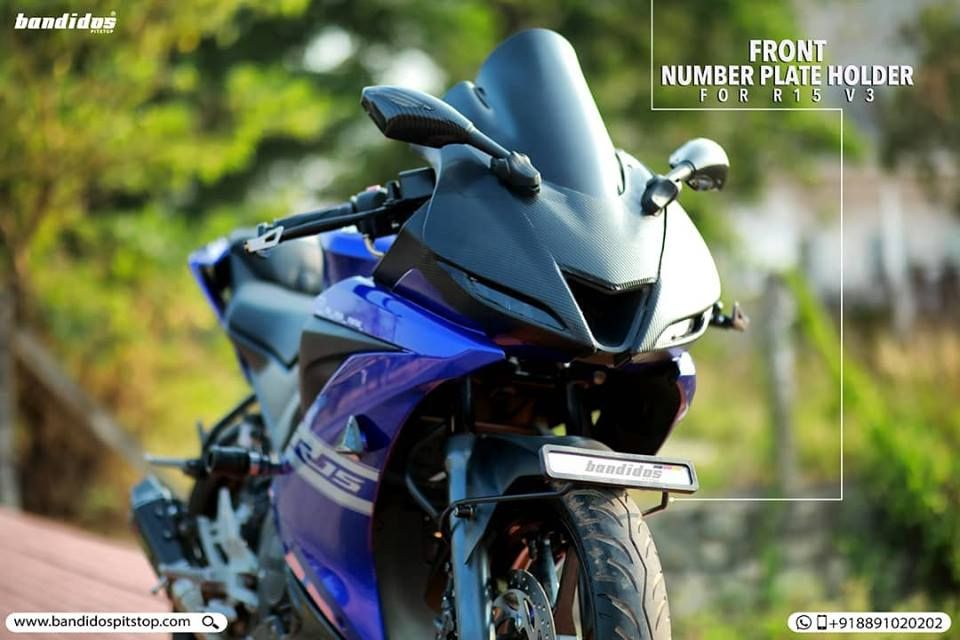 Now The Best And Sporty Look To Place Your Number Plate Is Here