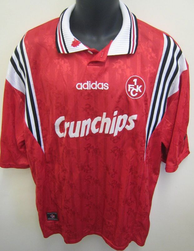 Vintage 90s Red Adidas Soccer Jersey ZOIbm4