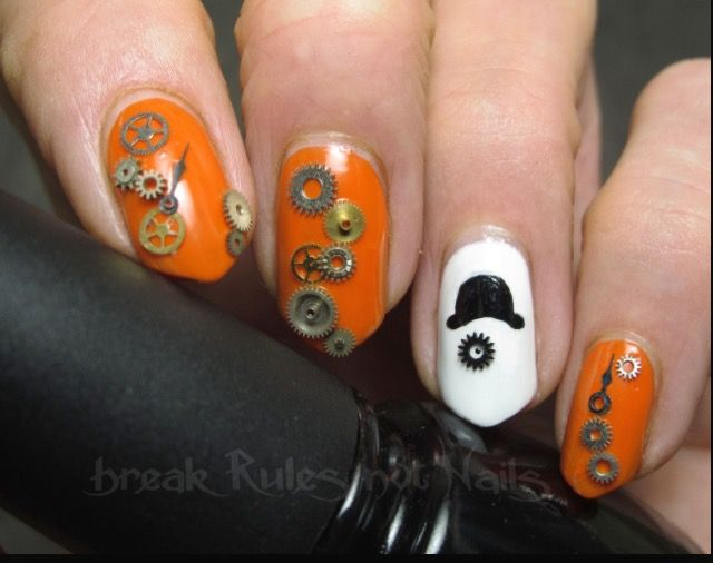 A Clockwork Orange nails. In love. | nails | Pinterest