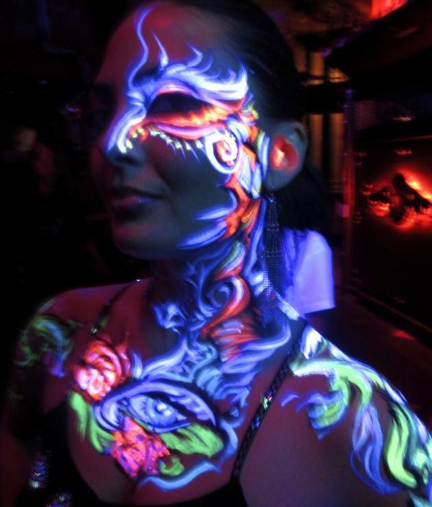Henna Tattoo Kit Hobby Lobby : Glow in the dark airbrush tattoo paint best