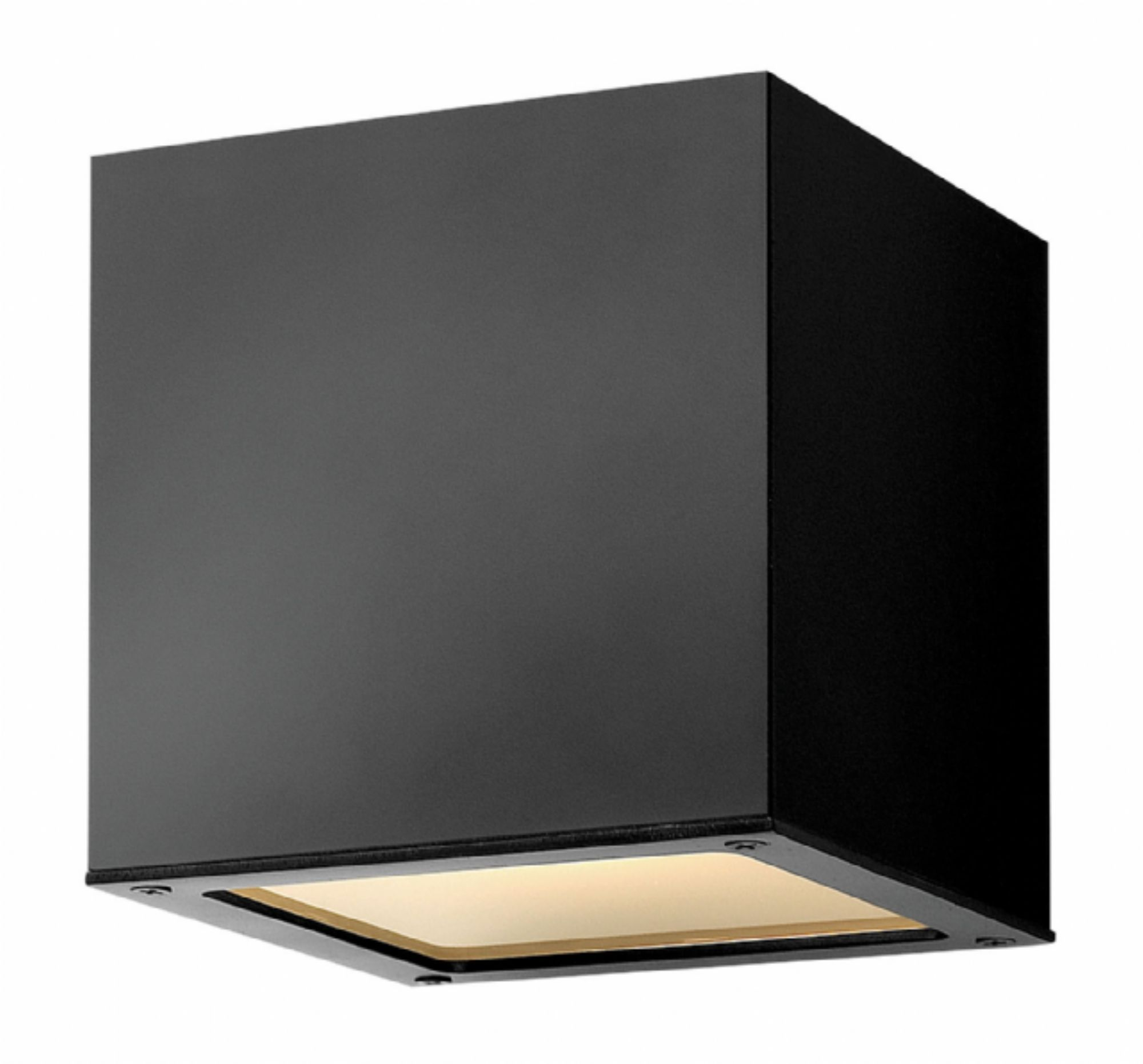 Hinkley lighting kube 1766sk favorite lighting pinterest hinkley lighting 1767 height 1 light outdoor wall sconce from the kube collec satin black outdoor lighting wall sconces outdoor wall sconces mozeypictures Gallery