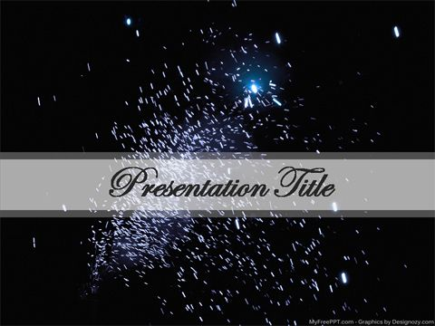 Fireworks powerpoint template videos deinteres pinterest free fireworks powerpoint template toneelgroepblik Image collections
