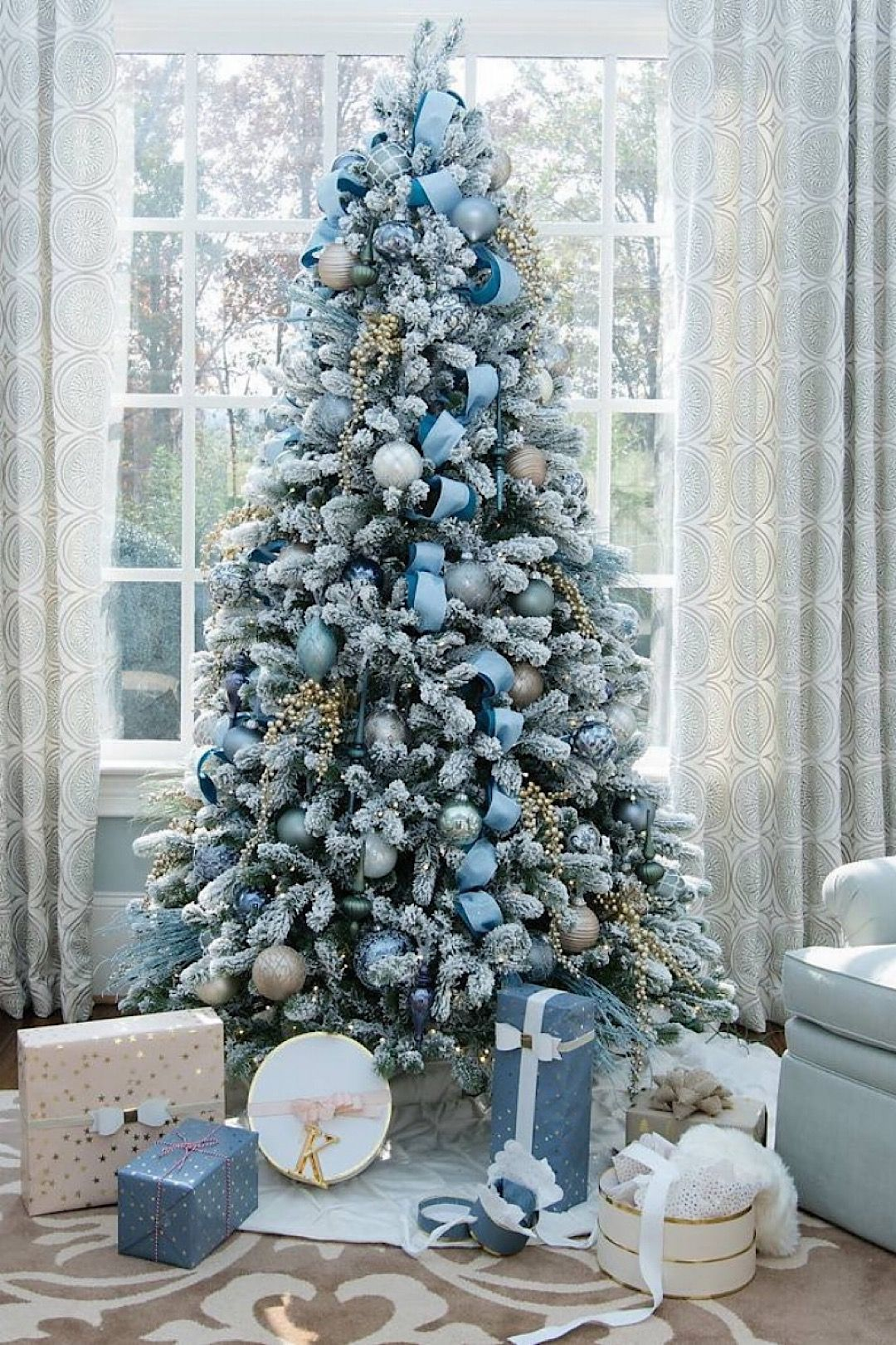 50 Dazzling And Highly Realistic Christmas Trees Purchased Kingofchristmas Styleestate Elegant Christmas Trees Realistic Christmas Trees Blue Christmas Tree Decorations