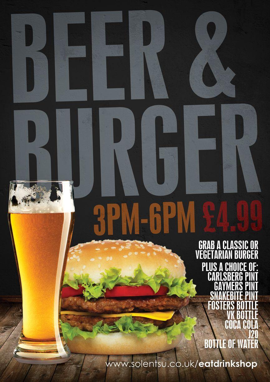 Beer Burger Promotion 2012 13 Hamburguesas Restaurantes Promociones