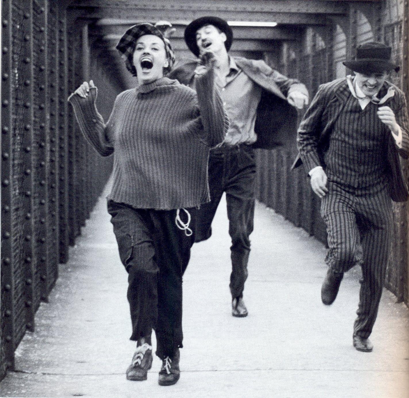 Jules et Jim - Jeanne Moreau, Oskar Werner, Henri Serre.