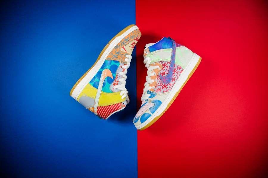 reputable site 65241 89456 Nike - SB Zoom Dunk High Premium Thomas Campbell - 918321-381