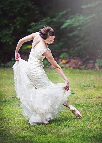 Ballet Bride Lisa Moorehead This Would Be So Cute For You