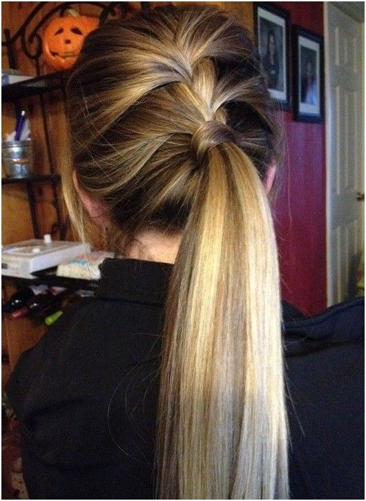 Sensational Pony Tails Braid Ponytail And Cute Ponytails On Pinterest Hairstyle Inspiration Daily Dogsangcom
