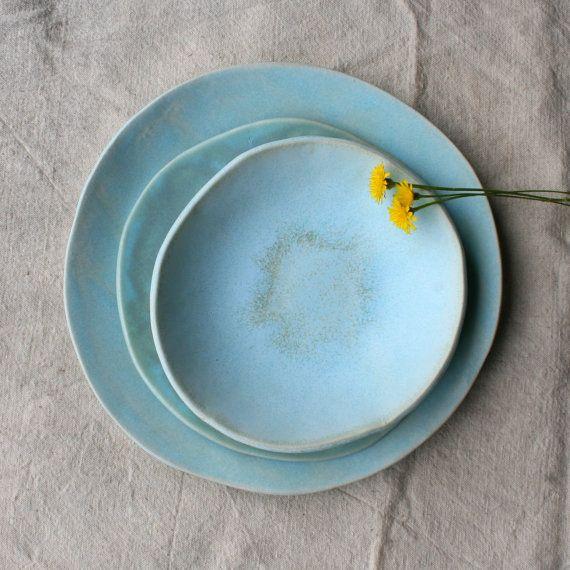 Ceramic Dinnerware Set, Handmade Ceramics, Rustic ...