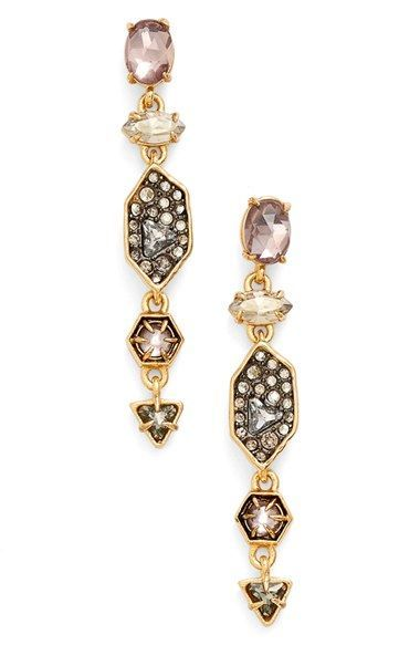 Alexis Bittar 'Elements' Crystal Linear Drop Earrings available at #Nordstrom