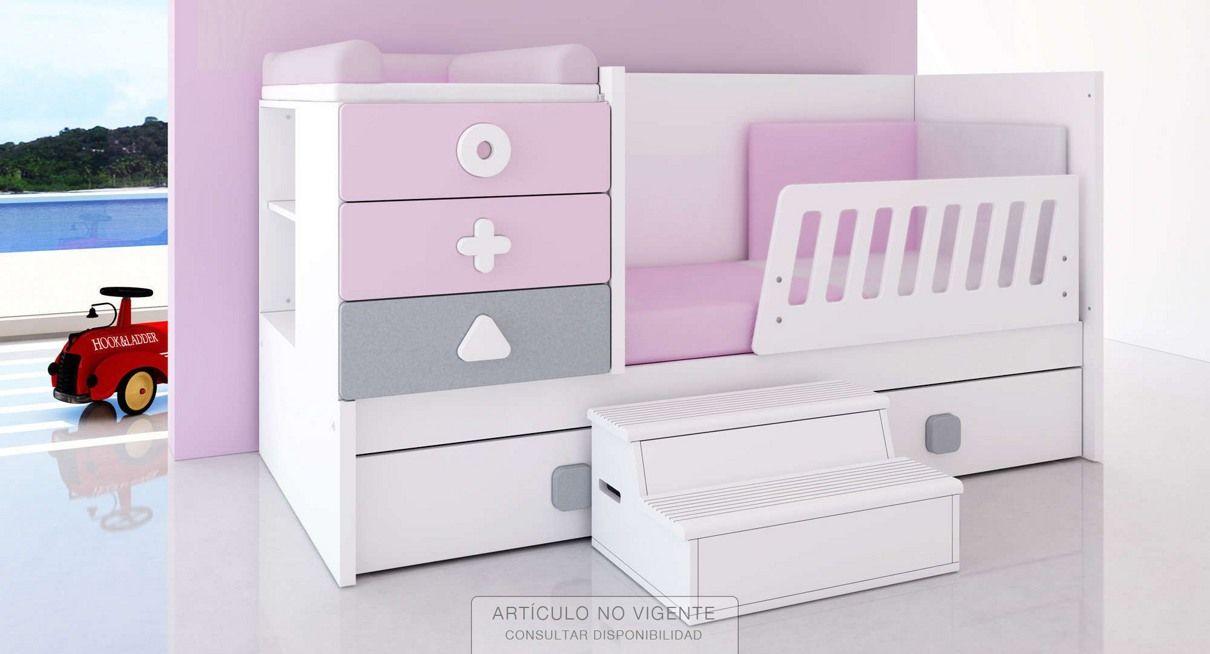 Cunas convertibles para ni os y ni as modernas y originales cama bebe - Prenatal muebles bebe ...