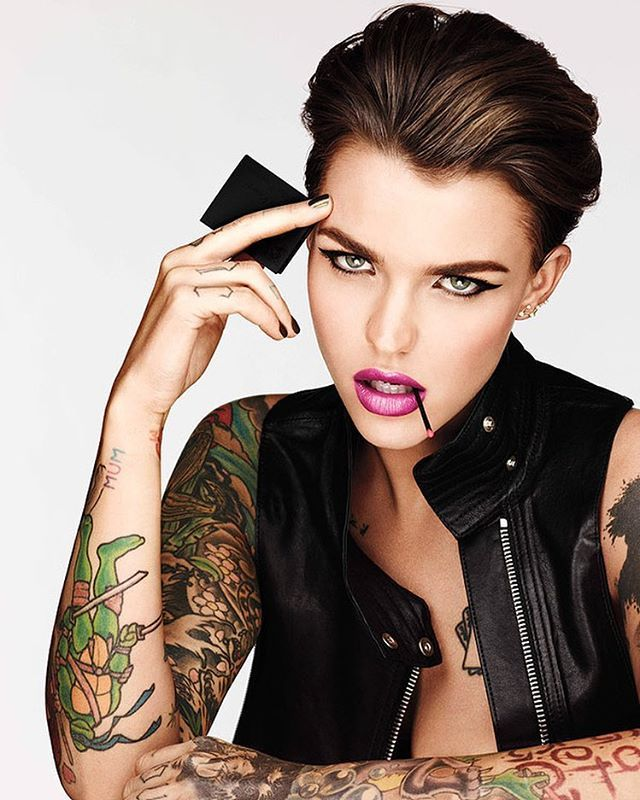 Ruby Rose Wwwfacebookcomilovehotandcutecelebrities
