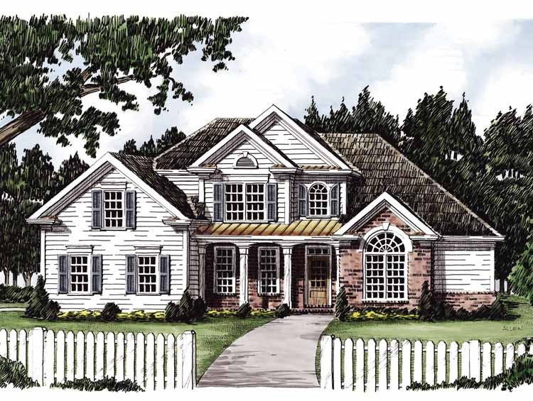 Country Style House Plan 4 Beds 3 Baths 2251 Sq Ft Plan 927 620 Country Style House Plans New House Plans House Plans