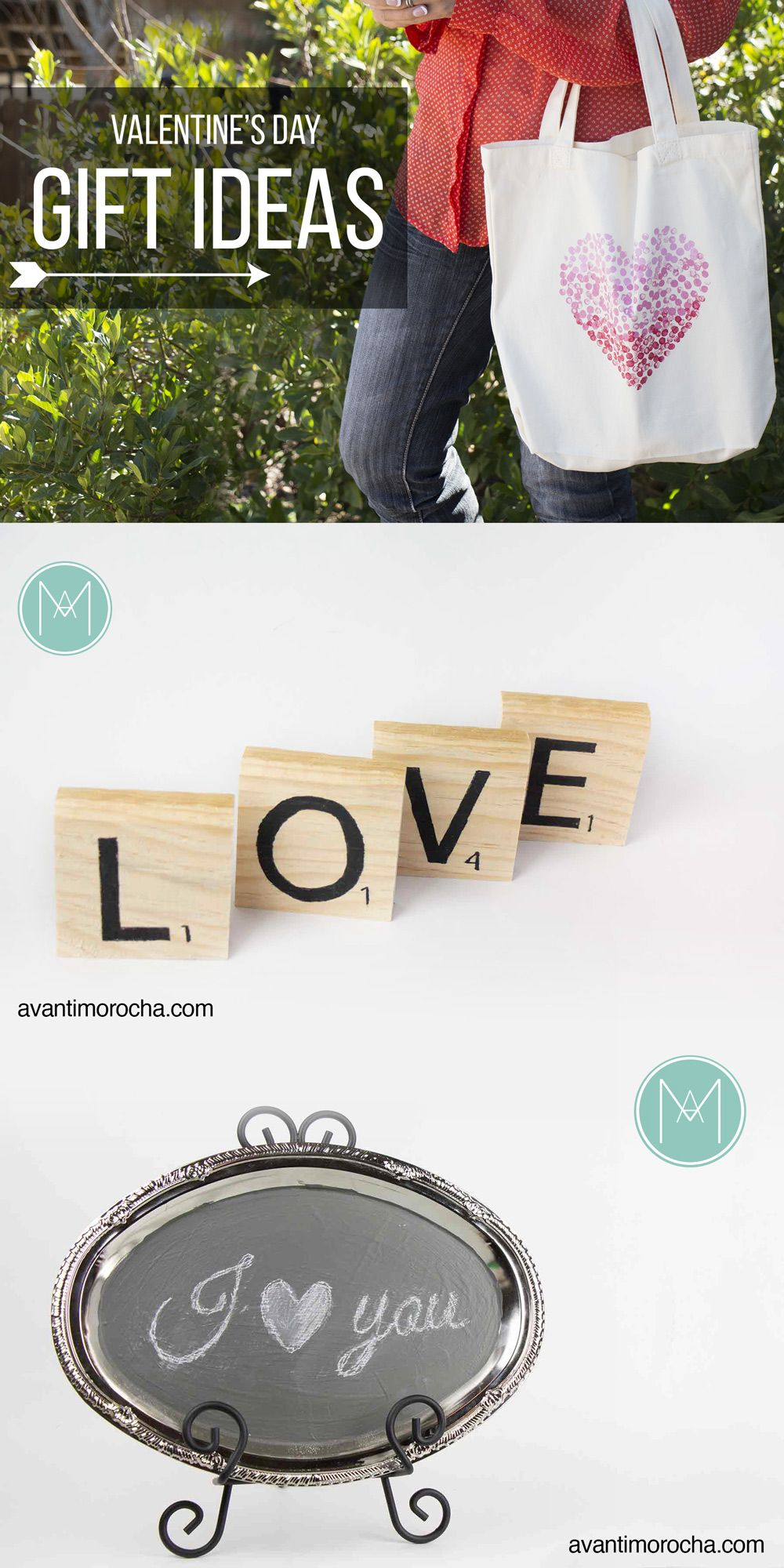 DIY Valentine's Day Gift Ideas Ideas de regalos San Valentin