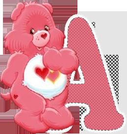 Alfabeto Ursinho Carinhoso 11 Letras Maiusculas E Minusculas