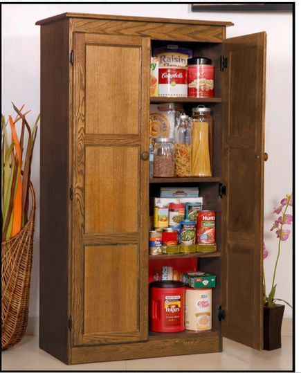 Tall Kitchen Storage Units: Tall Kitchen Storage Cabinet Home Office Organizer 4