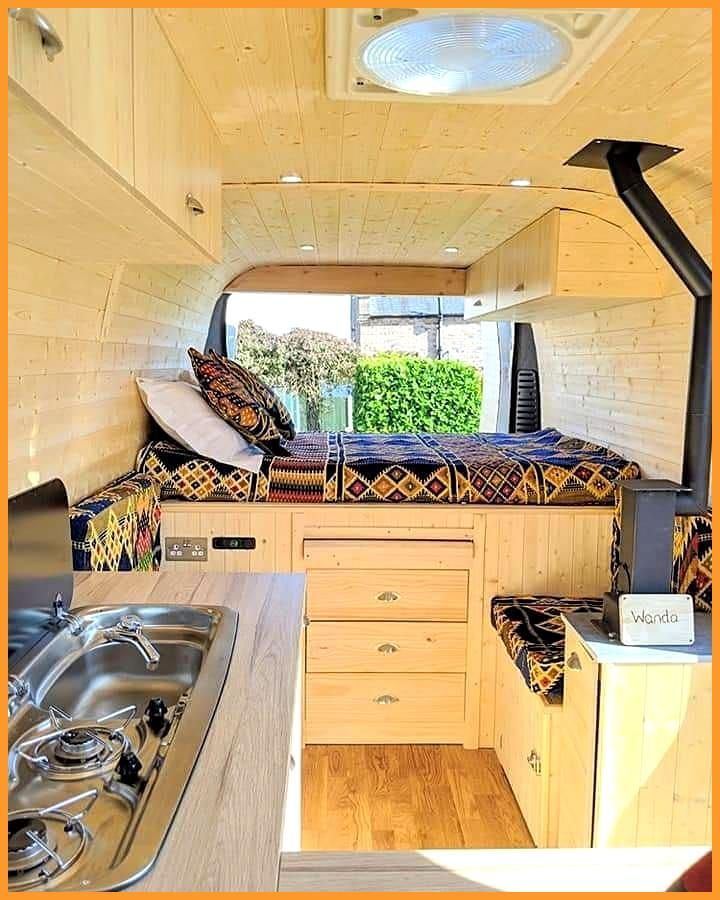 Myrtle by DB Campers on Instagram  Our collection of custom converted vans We are away in our van u