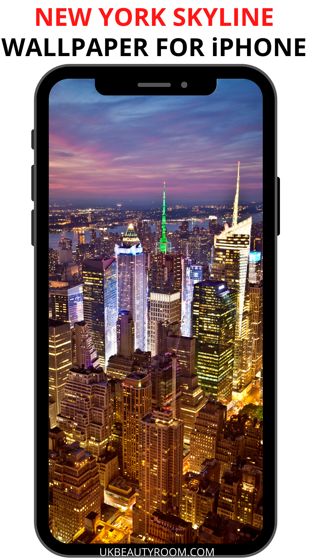 New York Skyline Wallpaper for iPhone in 2020 Iphone