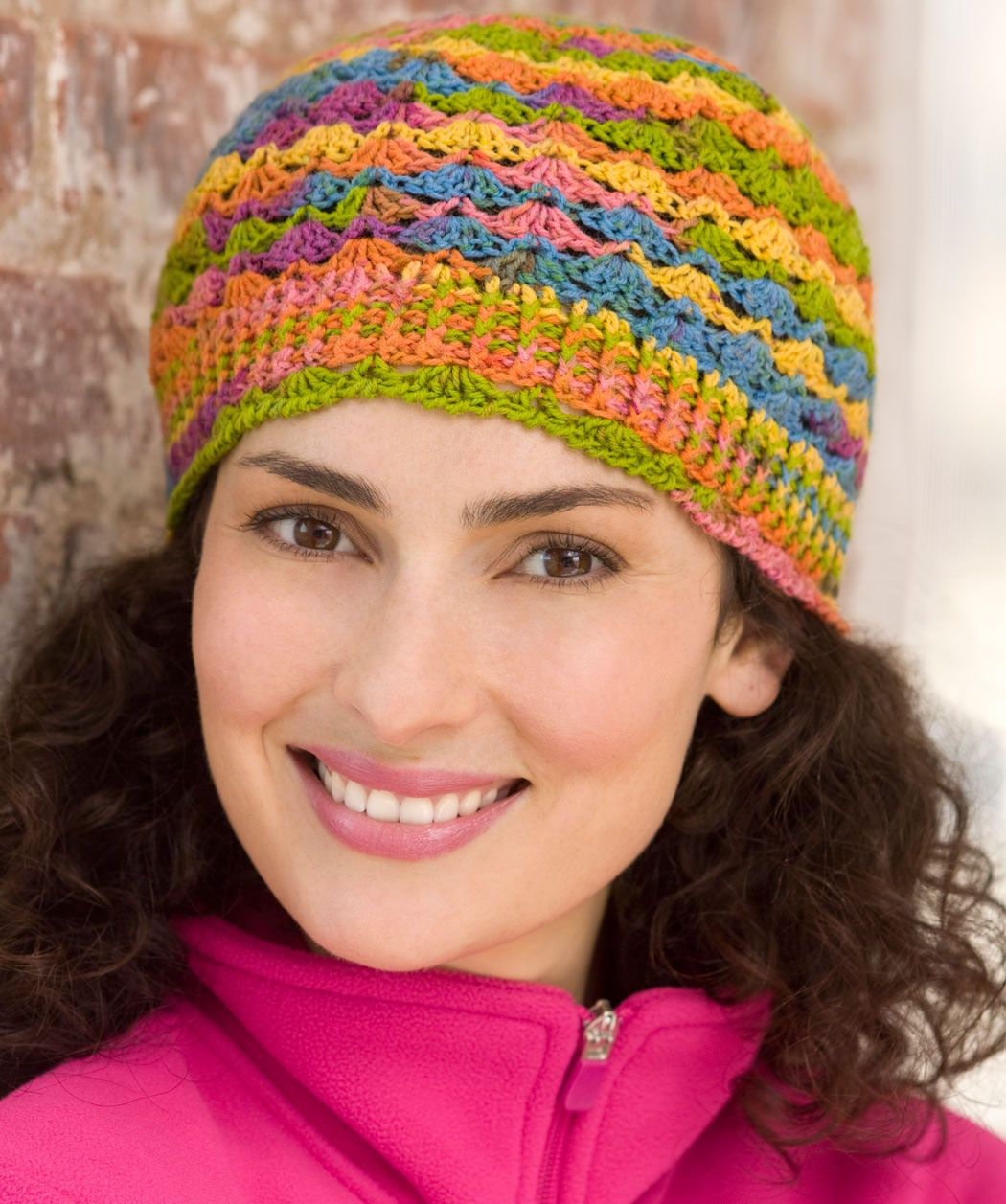free pattern for this hat   Crochet, Crochet hats, Crochet gloves ...