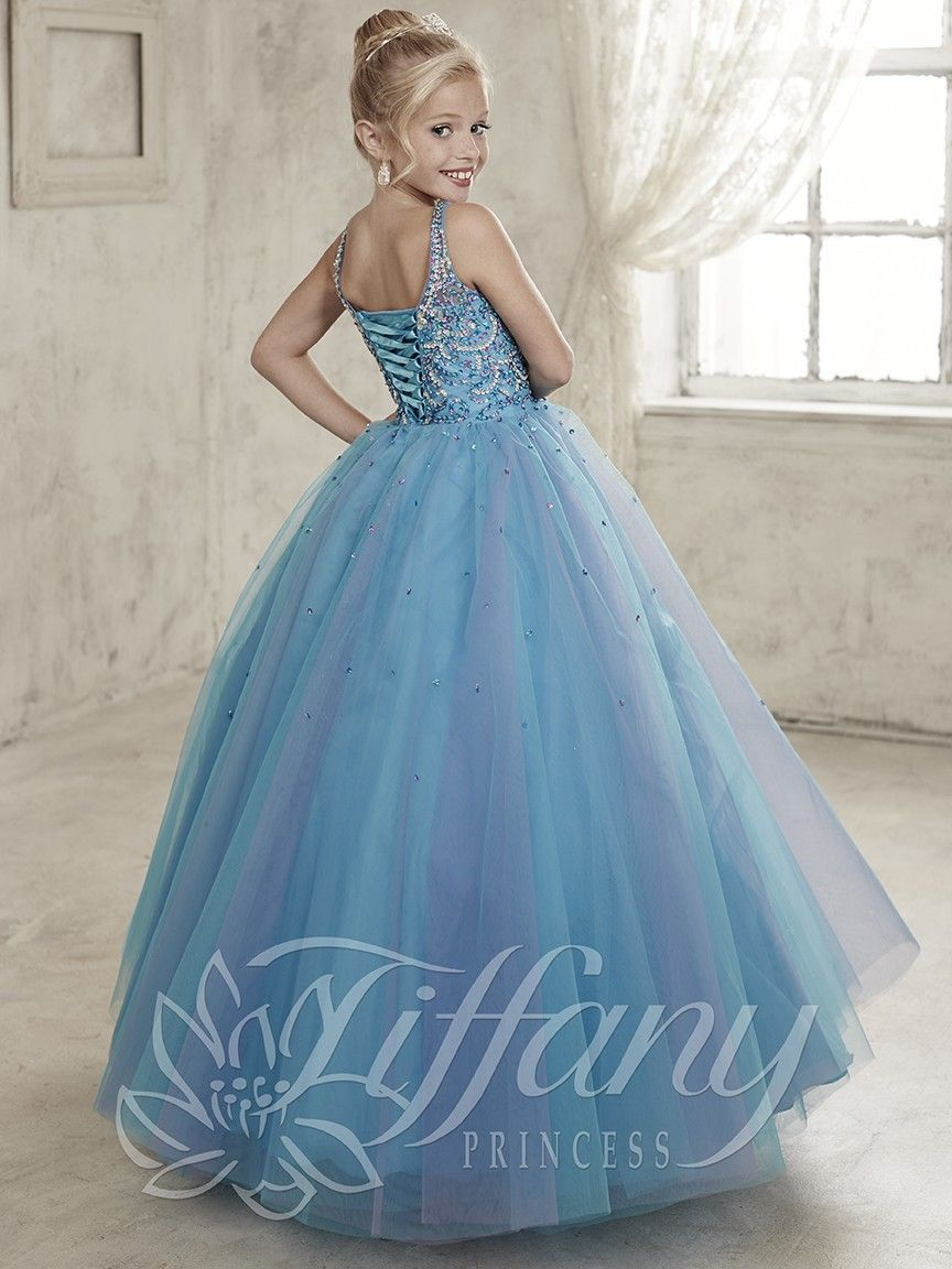 Tiffany Princess Girls Pageant Ball Gown 13449 | Kids Pageant Gown ...