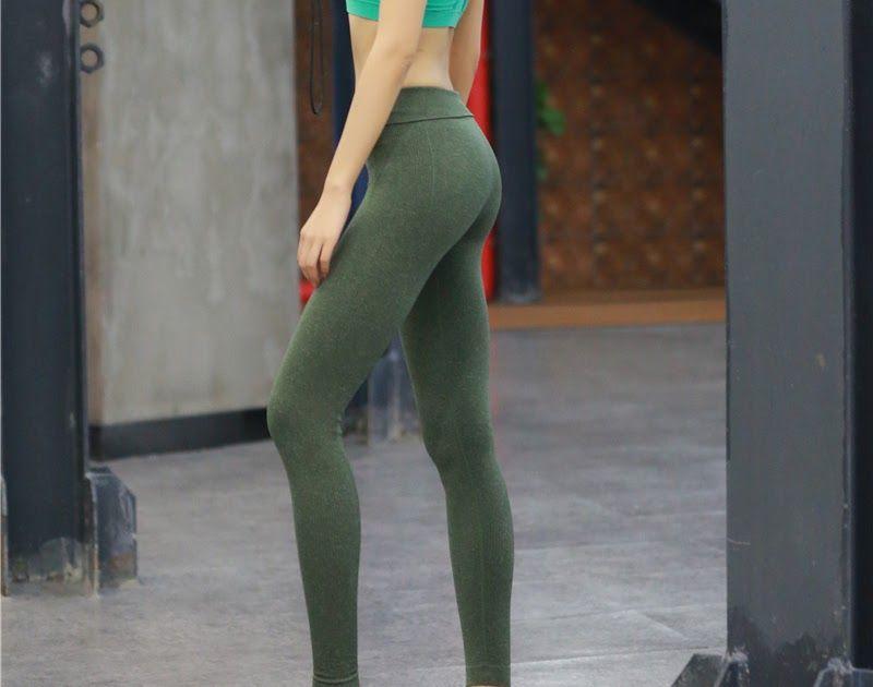 d6978ac2ba4090 Free shipping Colorvalue High Flexible Solid Yoga Leggings Women Push Up  Seamless Sport Workout Leggings Anti-sweat Comfortable Gym Leggings