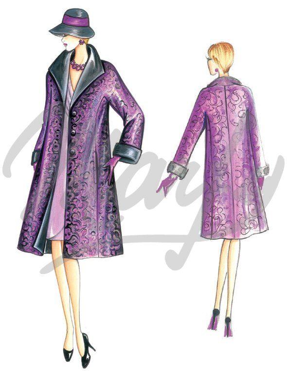 Nos Patrons :: Marfy Collection 2015/2016 :: Patron de couture 3774 -
