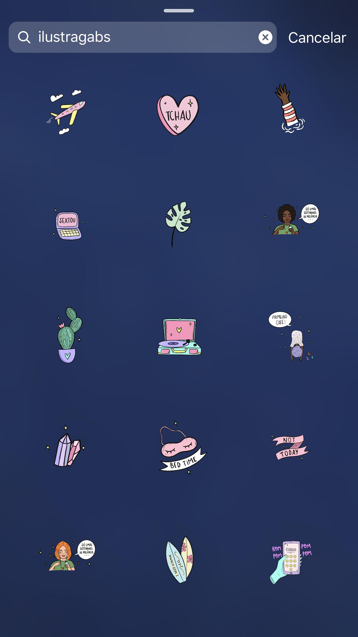 Cute Gifs Instagram Instastory Stories Blogueira 可愛い