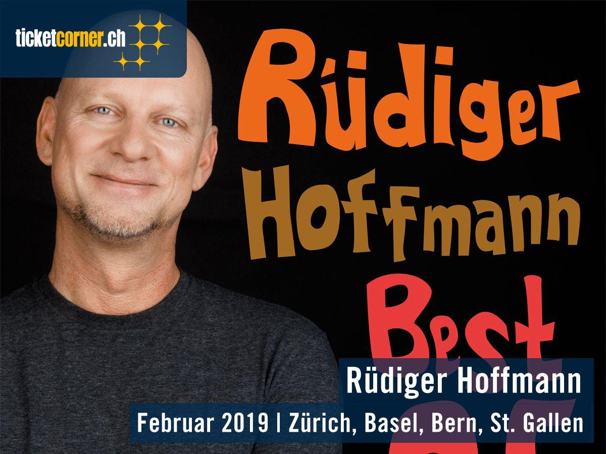 Ja Hallo Erstmal Der Gottvater Der Deutschen Comedy Rudiger Hoffmann Geht Mit Einem Best Of Seiner Elf Buhnenshows A Musical Theater Buhnenshow Comedy