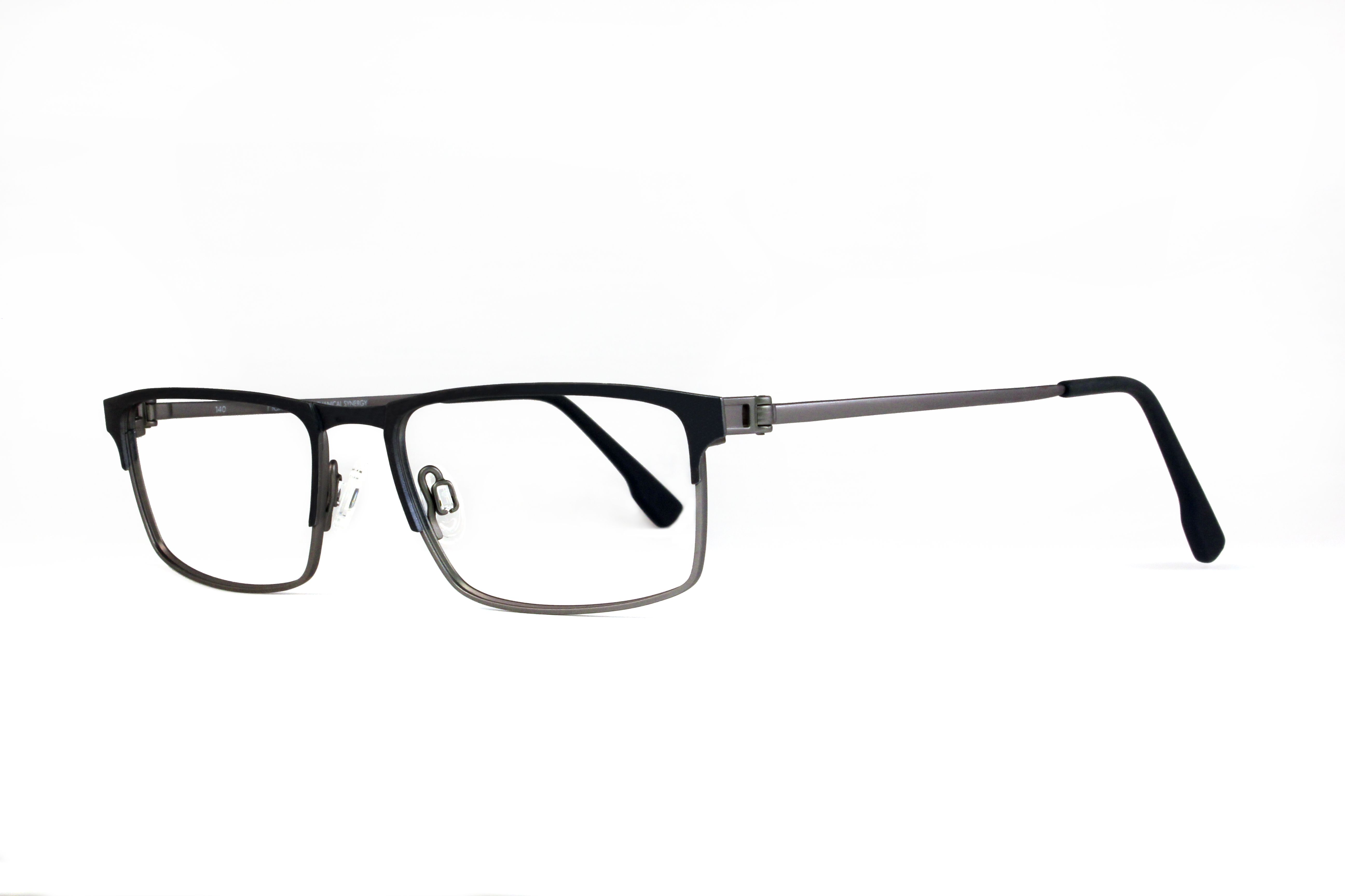 Check out these classic metal frames with a thicker brow line ...