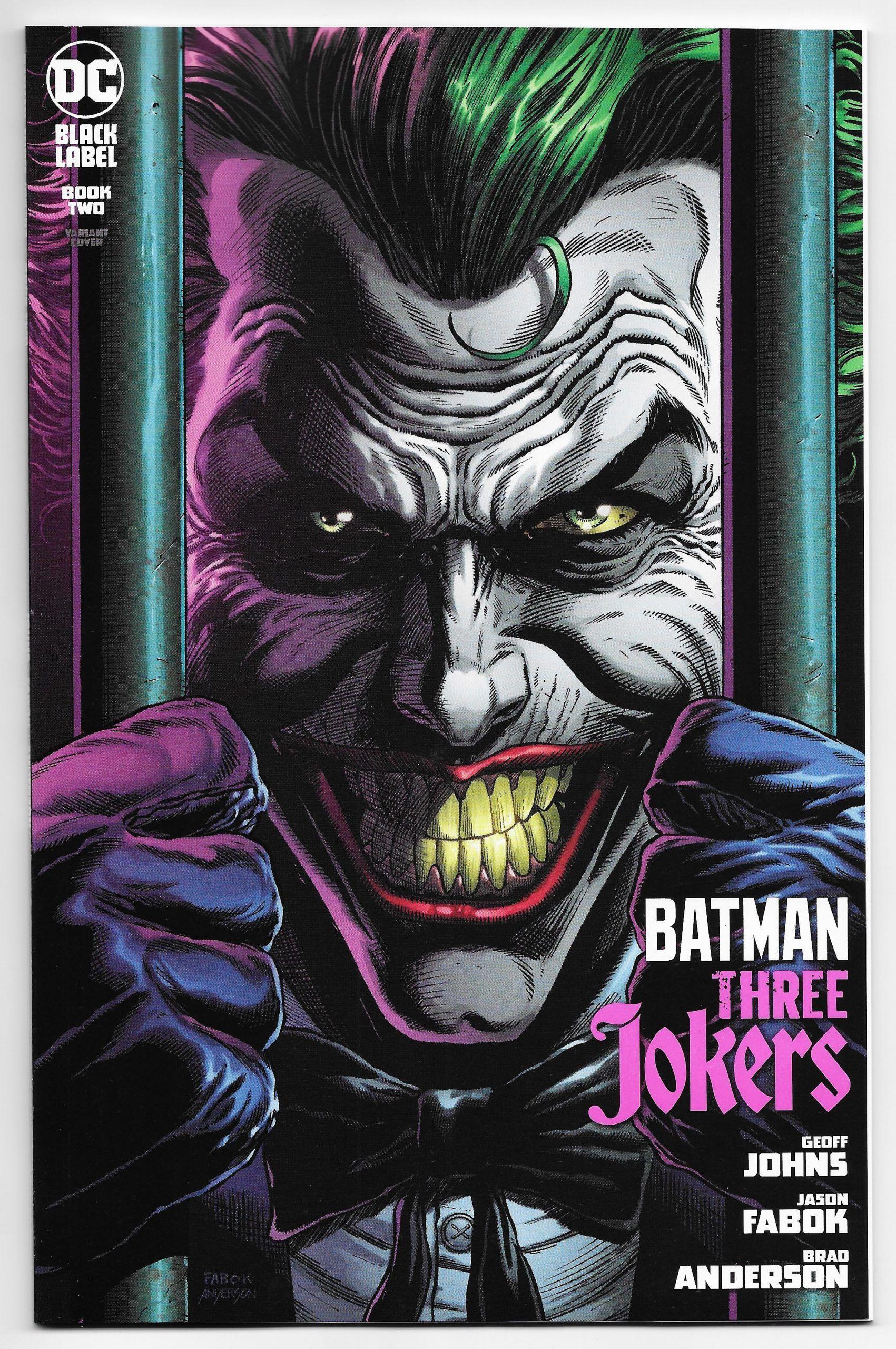 BATMAN THREE JOKERS #2 Jason Fabok Premium Variant Set of 3 DC Comic Book NM