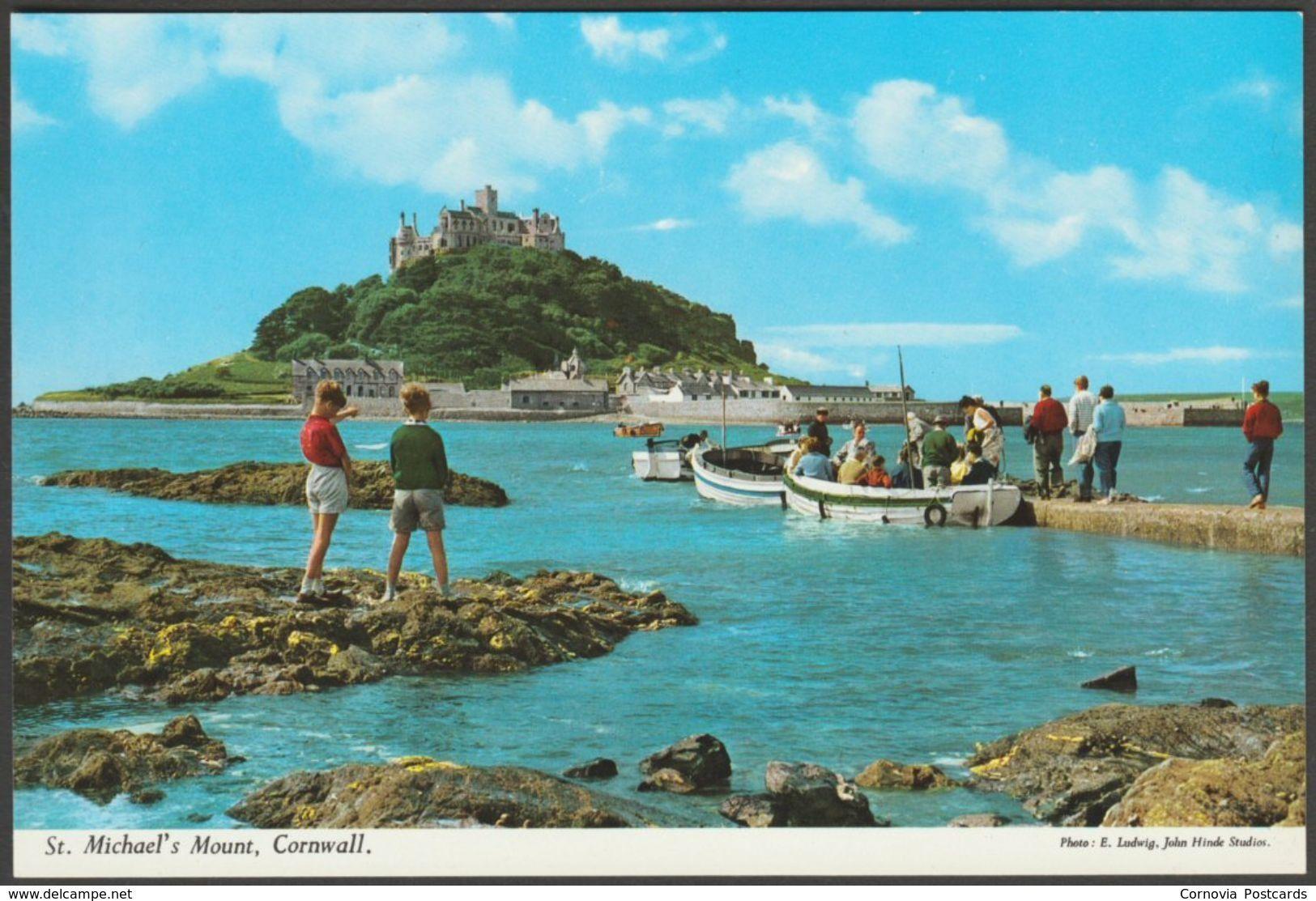 St Michael's Mount, Cornwall, c.1980 - John Hinde Postcard
