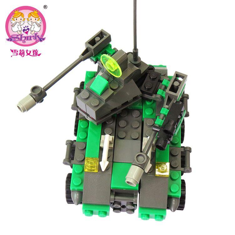 洛猫8017开智儿童锻炼脑力变形系列-火箭炮60