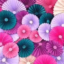 Resultado de imagem para Paineis de rosas de papel