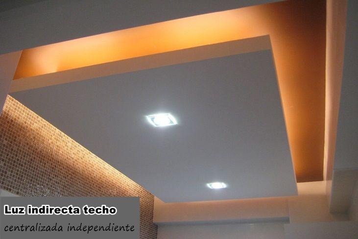 Informaci n de la luz indirecta como elemento decorativo - Falsos techos decorativos ...