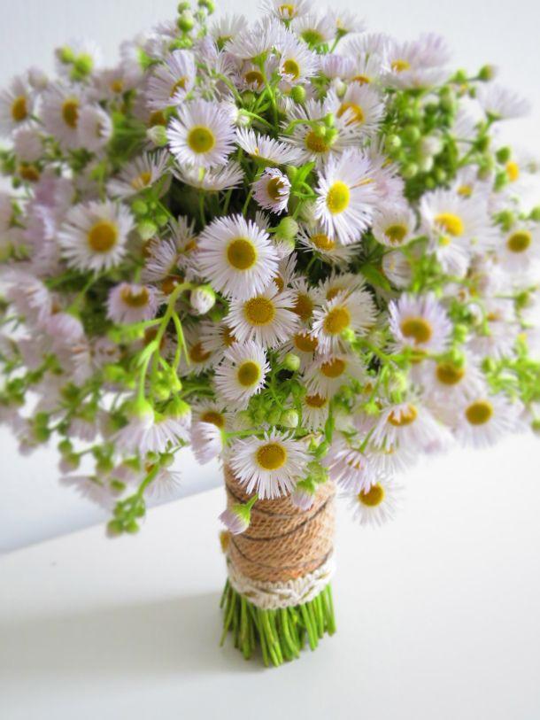White Asters Bright Wedding Flowers Wedding Flower Trends Diy Wedding Flowers