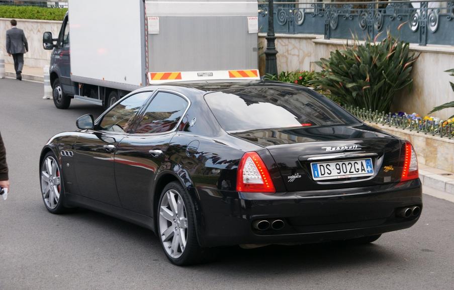 Maserati Quattroporte V 2008 | マセラティ