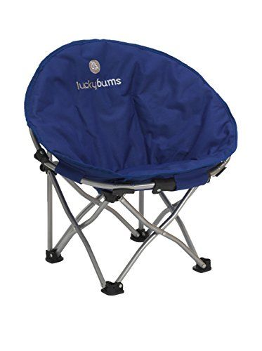Lucky Bums Camp Chair Dog Beds Camping Kitchen Moon Indoor Outdoor Comfort Lightweight Durable With Carrying Case Small Blue To View Further Visit Now