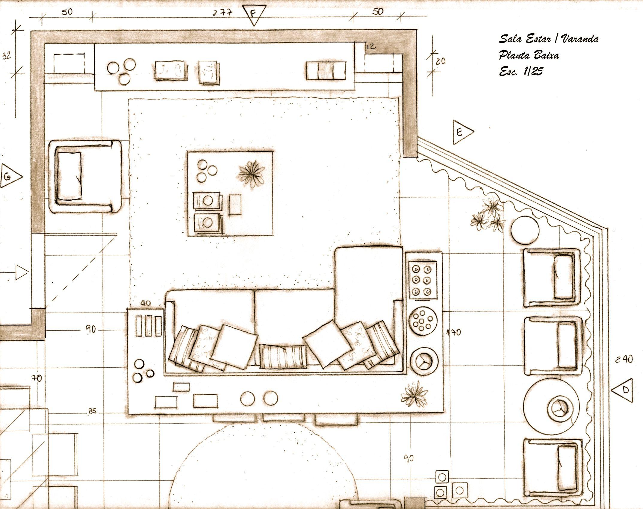 Projeto Cozinha Planta Baixa Projeto De Casa Com Quartos Elegant