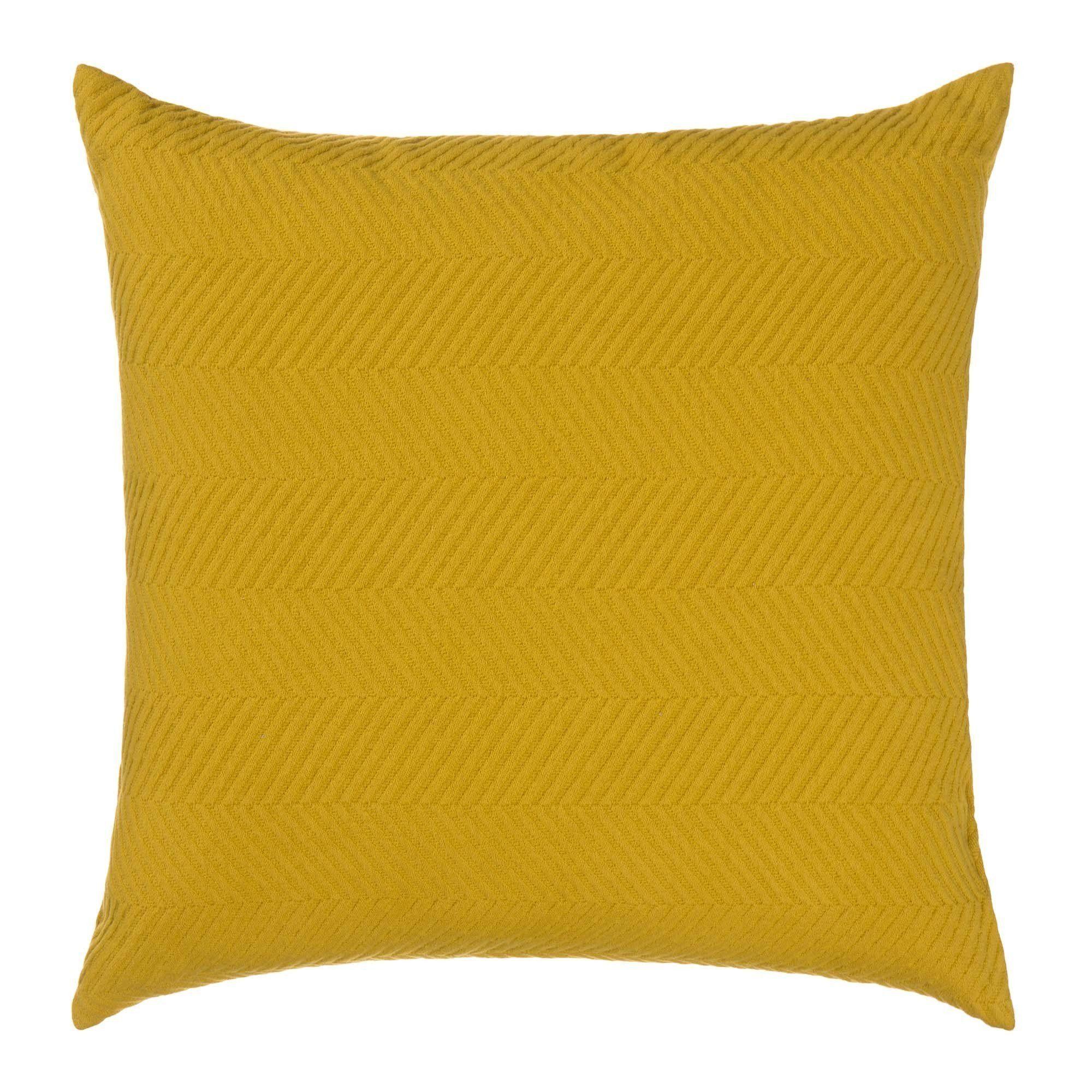 Kissenhulle Lixa Senfgelb 50x50 Cm Senfgelb Kissen Gelb Und