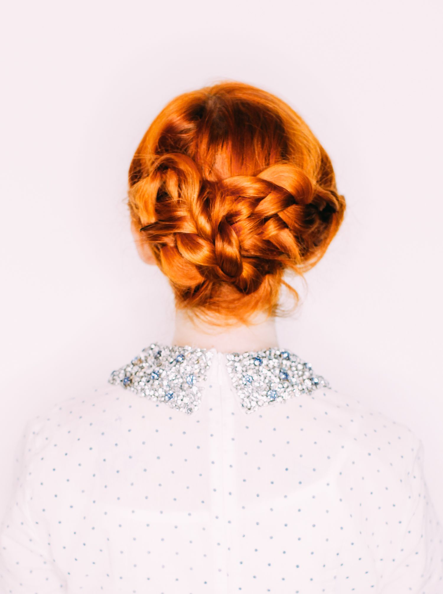 Easy Wedding Hair— a Triple Braided Updo (A Beautiful Mess)   Updo ...